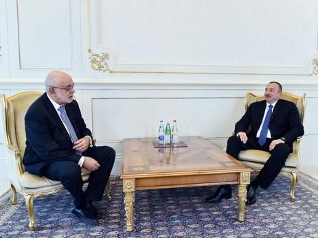 Президент Ильхам Алиев принял новоназначенного посла Перу в Азербайджане - ФОТО