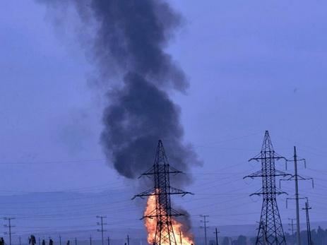 На взорвавшемся накануне магистральном газопроводе начались ремонтно-восстановительные работы - ОБНОВЛЕНО