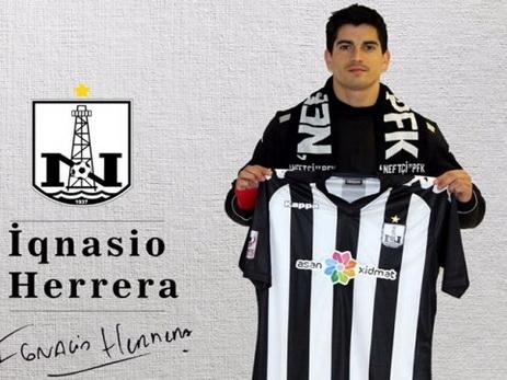 Игнасио Эррера официально в «Нефтчи»