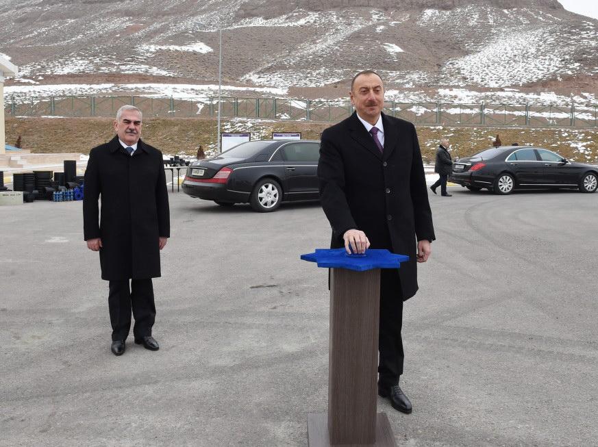 Состоялась церемония подачи питьевой воды в районный центр Джульфа и окрестные села - ФОТО