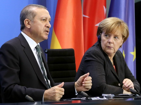 Стало известно, очем говорили Меркель иЭрдоган