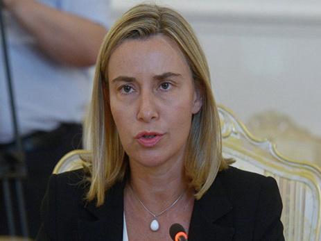 Могерини пообещала, чтоЕС продолжит поддержку Украины