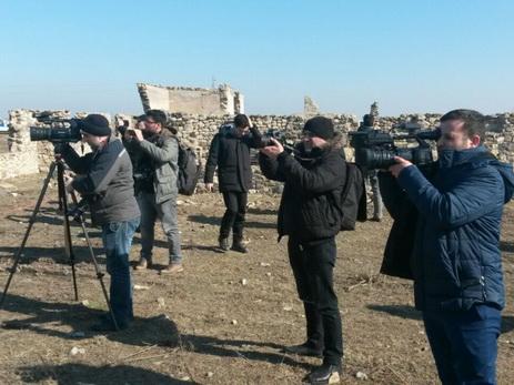 Иностранные журналисты посетили село Джоджуг Марджанлы - ФОТО