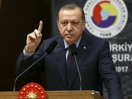 Трамп поговорит сЭрдоганом потелефону 14февраля