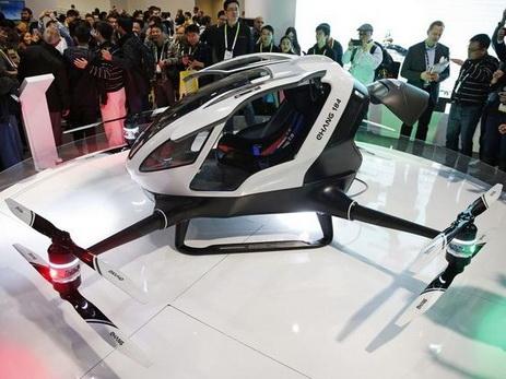 1-ый пассажирский дрон планируют запустить вДубае летом 2017 года