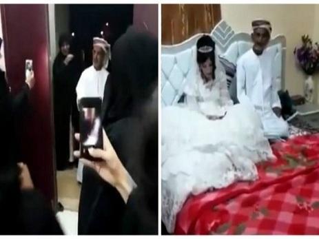 80 yaşlı kişi 12 yaşlı qızla evlənib - FOTO - VİDEO