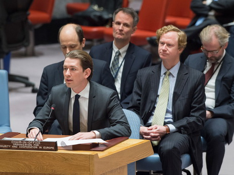 Курц: ОБСЕ увеличит количество наблюдателей наДонбассе