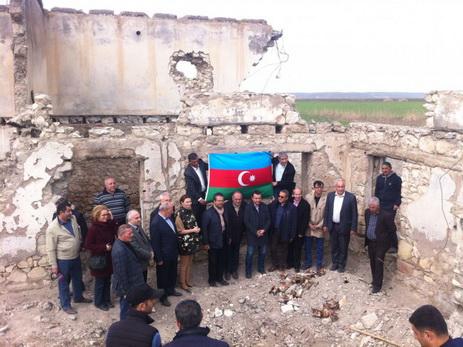 Турецкие журналисты посетили село Джоджуг Мерджанлы - ФОТО