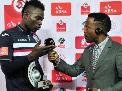 Ганский футболист впрямом эфире поблагодарил супругу  илюбовницу