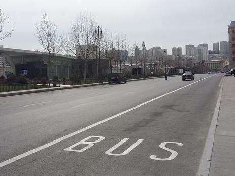 Все, что нужно знать о выделенных для движения автобусов полосах на дорогах Баку – КАРТА – ФОТО