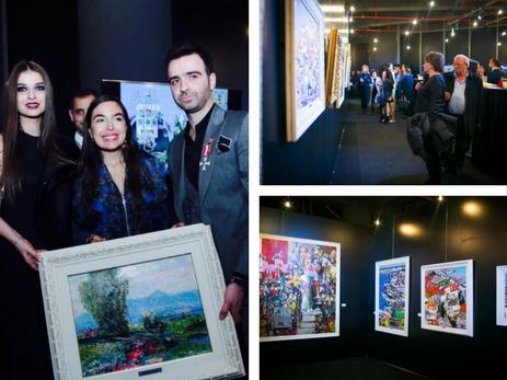 В Баку открылась выставка кавалера «Европейского ордена чести» Джасара Мамедова – ФОТО