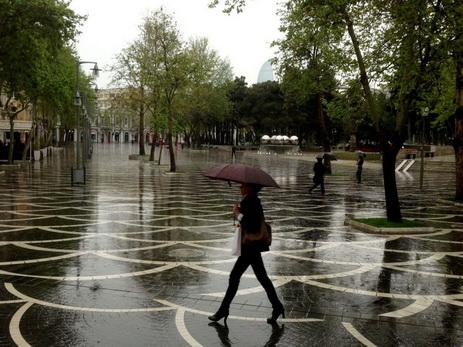 Завтра в Баку возможен кратковременный дождь