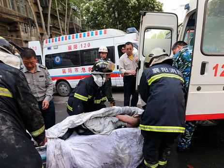 Вмассовом ДТП вКитайской народной республике столкнулись 40 авто