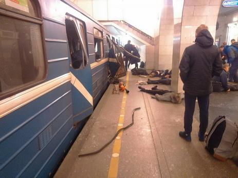 Администрация метро украинской столицы выразила сожаления всвязи совзрывом вСанкт-Петербурге
