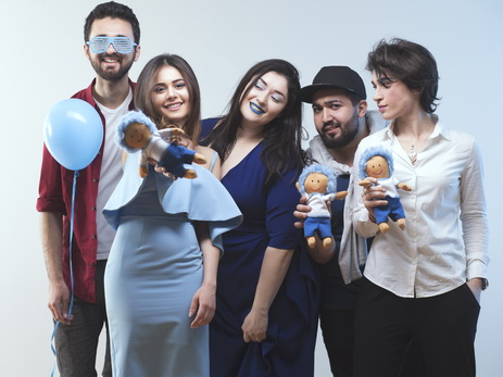 Light It Up Blue: участники «Səs Azərbaycan» в фотопроекте, посвященном проблеме аутизма - ФОТО – ВИДЕО