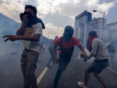 Впроцессе манифестации вВенесуэле пострадали 18 человек