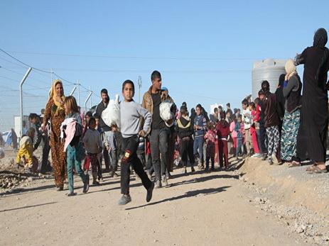 Свыше 250 тыс. граждан Мосула размещены влагерях беженцев всамом начале операции