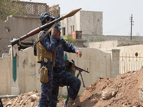 Ирак: террористы ИГИЛ вМосуле запустили ракету схлором