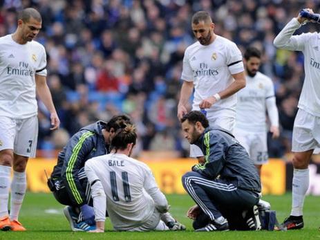 Полузащитник «Реала» Бэйл несыграет против «Баварии»