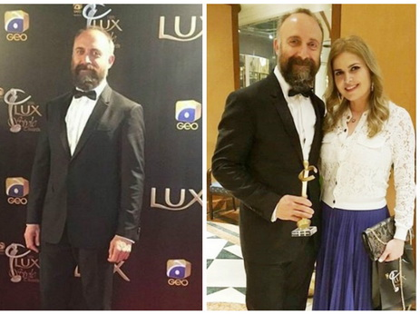 Звезде «Великолепного века» Халиту Эргенчу вручена премия International Icon Award -  ФОТО