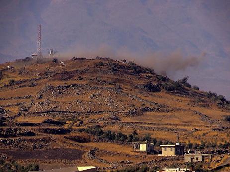 Выпущенный изСирии снаряд упал насевере Израиля