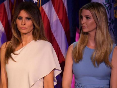 СМИ сообщили о ссоре Мелании и Иванки Трамп