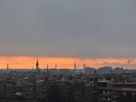 Мощнейший взрыв произошел врайоне аэропорта Дамаска