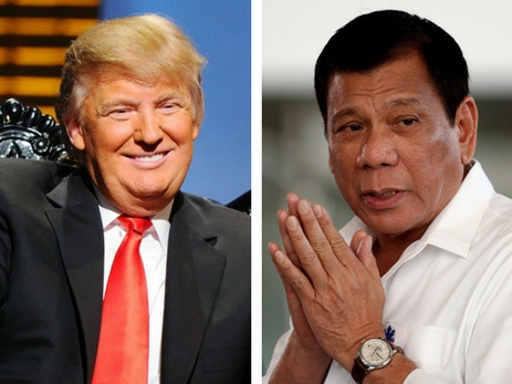 Трамп пообещал посетить Филиппины осенью ипригласил Дутерте вСША