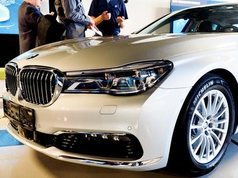 BMW представила первый беспилотный автомобиль