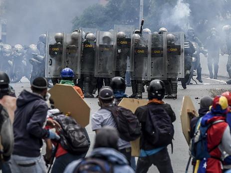 Убийства мирных граждан вКаракасе совершали стайперы оппозиции