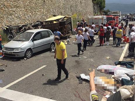 Среди погибших в трагедии  савтобусом вТурции иностранцев нет