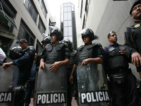 ВВенесуэле начались столкновения пенсионеров иполиции