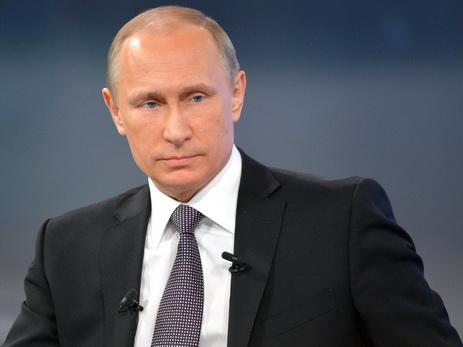 Путин назвал правильным отказ РФ отучастия в«Евровидении»