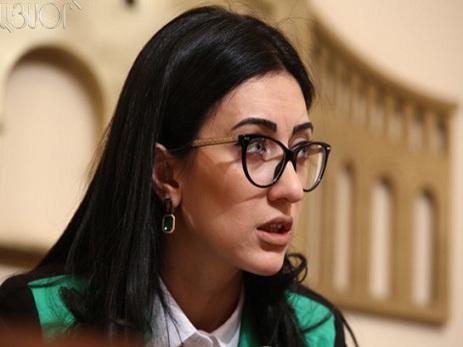 Sarkisyan xanım naziri vəzifəsindən azad edib