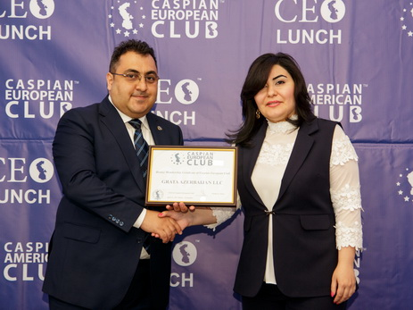 В Баку состоялся четвертый CEO Lunch - ФОТО