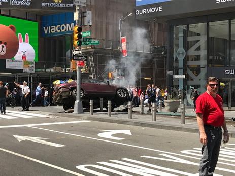 Появилось новое видео наезда на пешеходов в центре Нью-Йорка - ФОТО - ВИДЕО - ОБНОВЛЕНО
