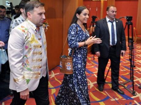 Лейла Алиева приняла участие в презентации нового фонда - ФОТО