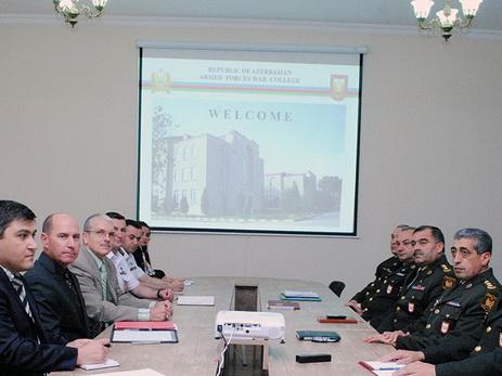 В Военной академии ВС прошла рабочая встреча по «Оценке военной игры» - ФОТО