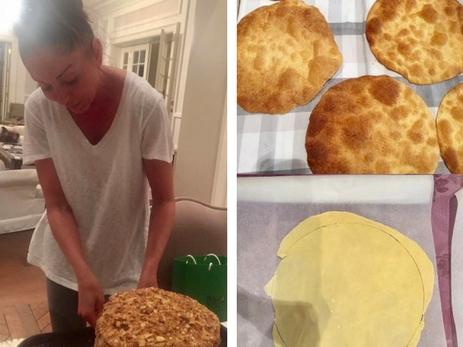 Лейла Алиева поделилась рецептом «Наполеона» от Мехрибан Алиевой – ФОТО