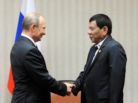 Встреча В.Путина спрезидентом Филиппин состоится на2 дня раньше доэтого