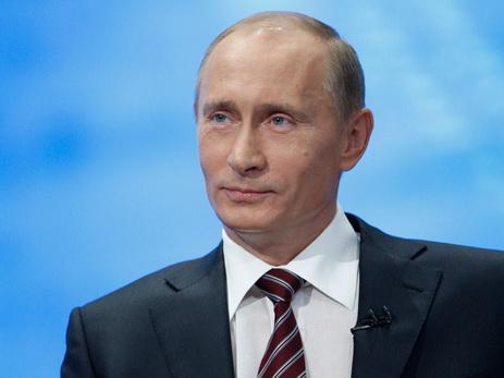 Путин поздравил президента Азербайджана сДнем Республики