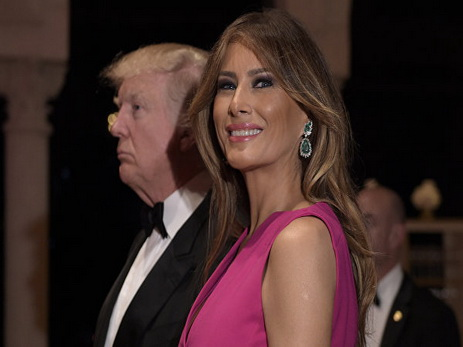 Первая леди Меланья Трамп ссыном переезжают вВашингтон наследующей неделе