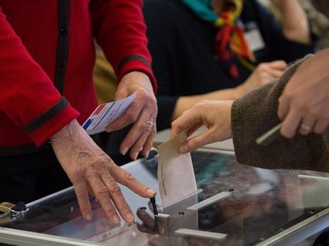 ВоФранции начался 1-ый  тур парламентских выборов