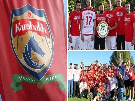 Очередное чемпионство «Karabakh Vienna»: австрийский футбольный клуб с азербайджанским колоритом продолжает побеждать - ФОТО