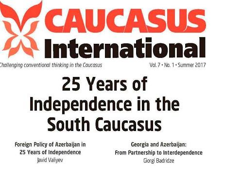 """""""Caucasus International"""" jurnalının yeni sayı işıq üzü görüb"""