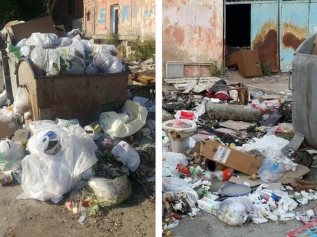 «Мусорные войны» в Баку: неужели за пределами своего дома можно гадить? - ФОТО