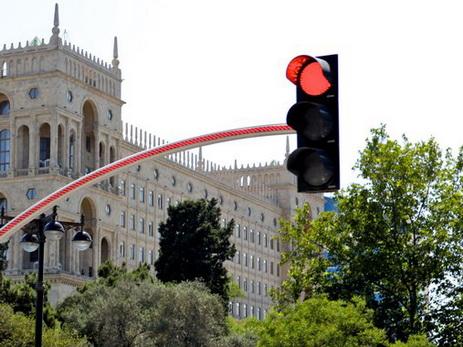 В связи с «Формулой-1» отключены светофоры на более чем 20 перекрестках Баку - СПИСОК