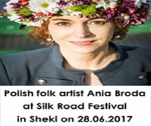 Polşanın məşhur müğənnisi Şəkidə konsert verəcək -VİDEO