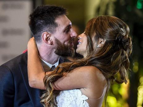 «Свадьба века»: Месси женился наматери своих детей