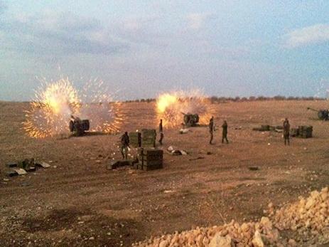 Израильские войска вновь атаковали позиции сирийских военных